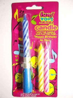 Wholesale Twist Candle Play Tune music Musical Candles Refills For Birthday Party Gift magic candl
