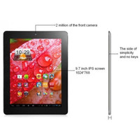 Wholesale newest9 quot ONDA v971 tablet sliver p dual camera HDMI dual core by world product