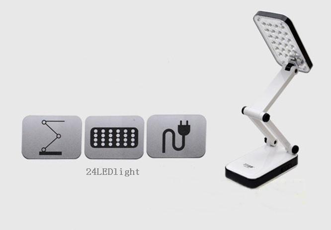 2017 Portable Folded Led Light Desk Lamp With Charger Built In – Desk Led Lamp