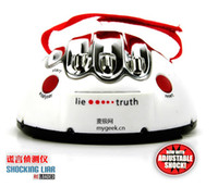 Wholesale Hot Lie Detector Polygraph test Shock Lie Truth Game Electric Shocking Liar Detector Toys Hobbies