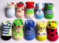 animals cartoon images - baby socks cotton material Cartoon images of three dimensional socks years