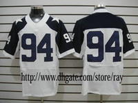 Wholesale Throwback Thanksgiving White Road American Football Jerseys Authentic Sportswear Rugby Jersey