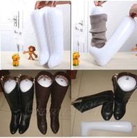 Wholesale Inflatable Long Boot Shoe Stand Holder Stretcher Support Shaper Plastic