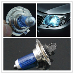 Wholesale H7 V W Blue Glass Lamp halogen Headlight H7 Light Bulbs Blue Car lamp IN STOCK