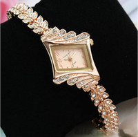 Wholesale EVSHSB Fashion rhinestone diamond Waterproof luxury watches for ladies