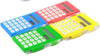 pocket notebook calculator - High Quality Business Notebook calculator pad pocket calculator solar energy calculator