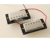 Wholesale Wilkinson Lic LP Hot Humbucker Pickup Set Chrome