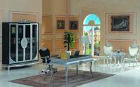 No study room furniture - new classical furniture silver foil hand carving study room furniture
