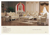 Wholesale Italian living room furniture hand carved living room furniture sets