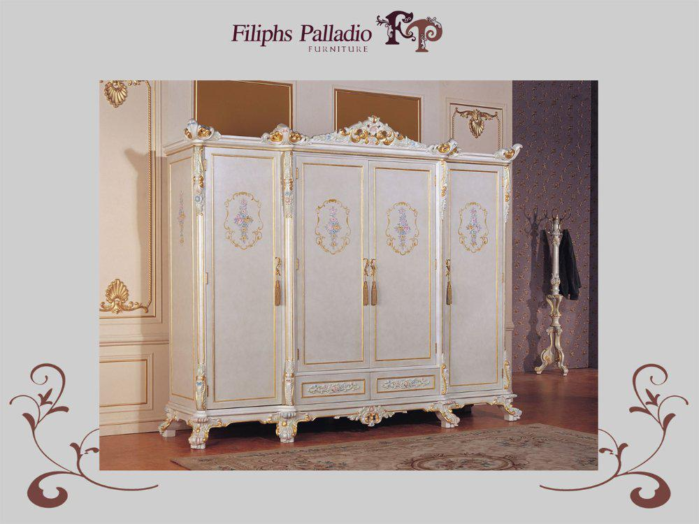2017 French Country Furniture Rench Furniture Wardrobe