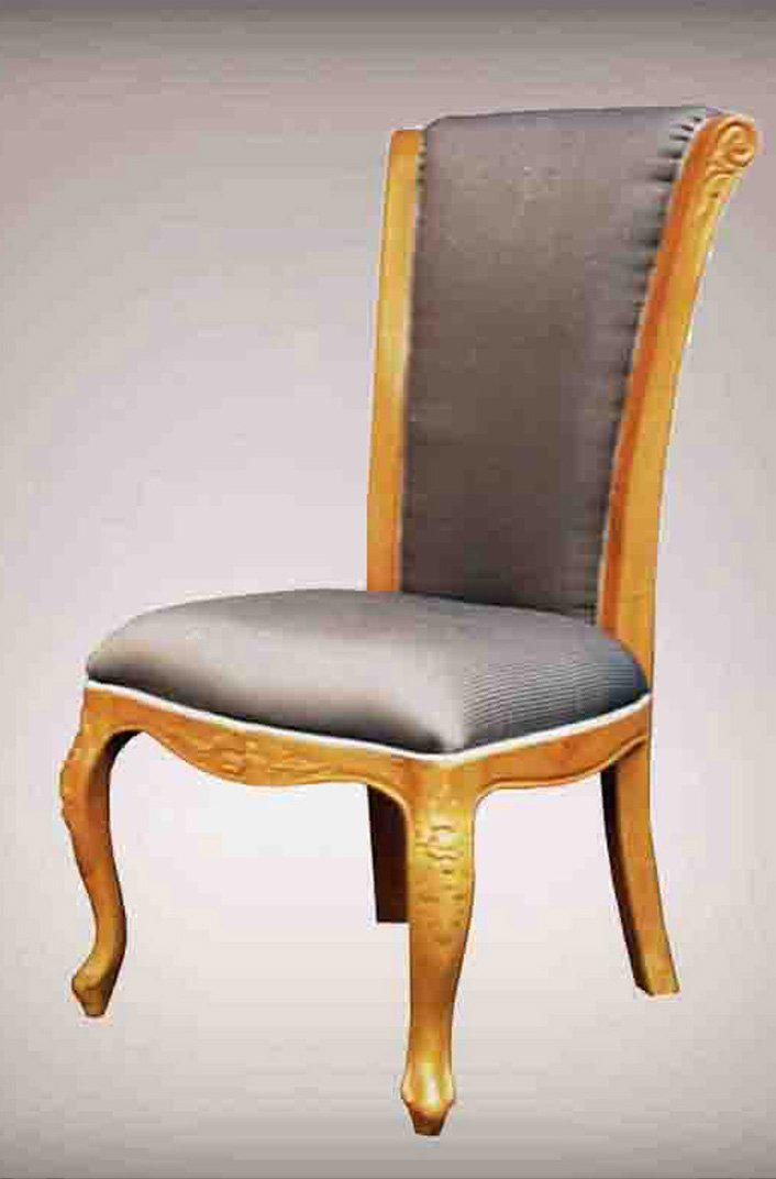 2017 Italian Wooden Furniture Antique Hand Carved Chair Furniture Classic Dining Room Furniture
