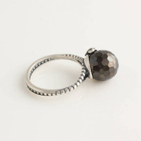 Wholesale Wedding Engagement Rings Black Gemstone Etemity Ring Woman Silver Style Jewelry Sexy RIP024