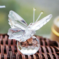 Wholesale Butterfly Design Wedding Crystal Gifts Wedding Favors