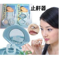 Wholesale NOSE CLIP PREVENT SNORING Cessation Silicone SNORE STOPPER ANTI SNORE best gift
