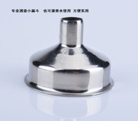 Wholesale Stainless Steel Funnel Drink Liquor Whisky Alcohol Hip Flask Kitchen Tools MINI Funnels