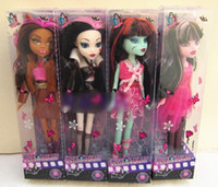 Wholesale dolls monster High Fashion devil Beauty brand plastic girls gift toys in box gift