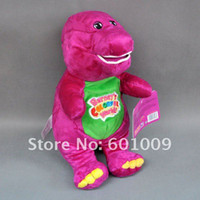 barney plush - 30cm Barney Child s Best Friend Plush Soft Stuffed Doll Toy for kids gift EMS