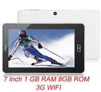 719H Android 4.0 Tablette PC avec 3 g Écran de 7 pouces 1.0 GHz HDMI Unique SIM Double Caméras de 8 go pour ordinateur portable