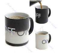 Wholesale Fantastic Magical ON OFF Color Changing Hot Cold Heat Sensitive Mug Ceramic Cup