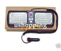 Wholesale DC12V New Emergency Super Bright LED Visor Strobe Light