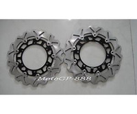 Wholesale CNC Floating Front Brake Rotor Disc Yamaha YZF R1 R6 Black