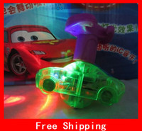 8-11 Years beyblade cartoons - Cartoon Pixar Cars Flash Beyblades With Music Lights Lovely Cars Beyblade Xmas Gifts