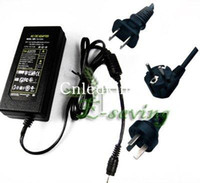 Wholesale 10 power supply adaptor transformer with EU AU US plug DC V A V AC for led light