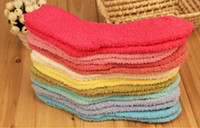 home warmer - Soft WARM Fuzzy Socks Home Towel Thick Towel Socks floor carpet socks