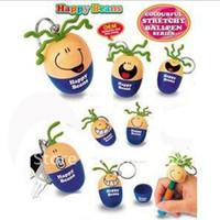 Wholesale Creative pen Smiling face stretch pen cartoon pen eggs pen