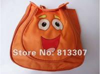 Wholesale Child Pre Backpack Shool Bag Orange Toddler Nylon Dora the Explorer Retail
