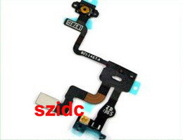 Original New Proximity Light Sensor Power Flex Ribbon Cable For iPhone 4S Parts Replacement Free DHL EMS