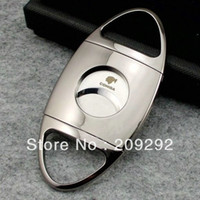 box cutter - thickened cigar cutter packed with gift box stainless stell cigar cutter TH