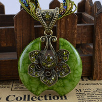 Women's beads gif - Antique Jewelry Alloy Resine Incomplete Blue Moon Pendant Necklace Glass Bead Multi Strand Xmass Gif