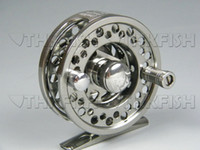 Wholesale Top Grade X FL02 Dia mm Huihuang Aluminum Fishing Reels Fly Reel Die casting Reels