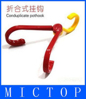 clothes and shoes - Multipurpose Novelty And Practical Folding Hook Clothes Hook Shoe Hook