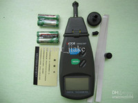 Wholesale Digital tachometer DM6236P non contact laser dual use tachometer motor speed