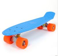 skateboards - quot Complete Plastic Cruiser Skateboard Fish Shape Style Penny long skateboards