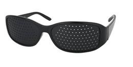 Пинхол очки для облегчения усталости глаз помощь коррекции миопии 2pcs / lot