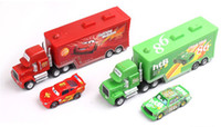 trucks - Pixar Car Cars Mack hauler MACK TRUCK Chick Hick Thai MaiKun Lightning Mcqeen Truck car Kid Toy