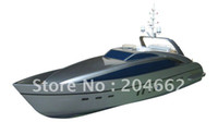 Wholesale rc boat cc rc model Bright Sun Luxury Yacht GP260 Silver Gray RTR Pistol Transmitter rc toy toys