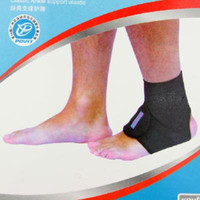 Wholesale NEW PROTECTIVE PC ANKLE SUPPORT SOFT BRACE BLACK