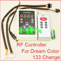 Wholesale IC RF LED Remote Controller for RGB SMD Magic Dream Color Intelligent LED Strip Light