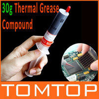 Wholesale 30g Grey Thermal Grease Paste Compound Silicone for CPU Heatsink Heat Sink