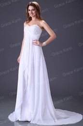 Wholesale Hot Sale Strapless Long Wedding Sheath Dress Bridal Gown Prom CL2526