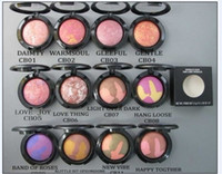 Wholesale 80PCS High quality Professional Makeup Mineral blush g Powder blusher different colors