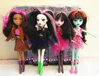 Wholesale Monster High fashion dolls DEVIL Beauty brand plastic girls gift toys New in Box