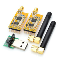 Wholesale Arduino Compatible APC220 Wireless RF Modules w Antennas USB Converter
