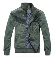 Polyester Fiber urban clothing - 2013 Hottest Urban Casual Men s Jacket Washed Spell Color Winter Clothing KDDZ