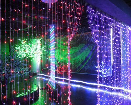 400 Led Curtain Light Led Light String Decoration Light Holiday