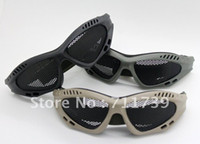 Wholesale 10pc Top Quality Protective Net Glasses Goggles CS Protective Glasses Tactical Glasses Eye Protect